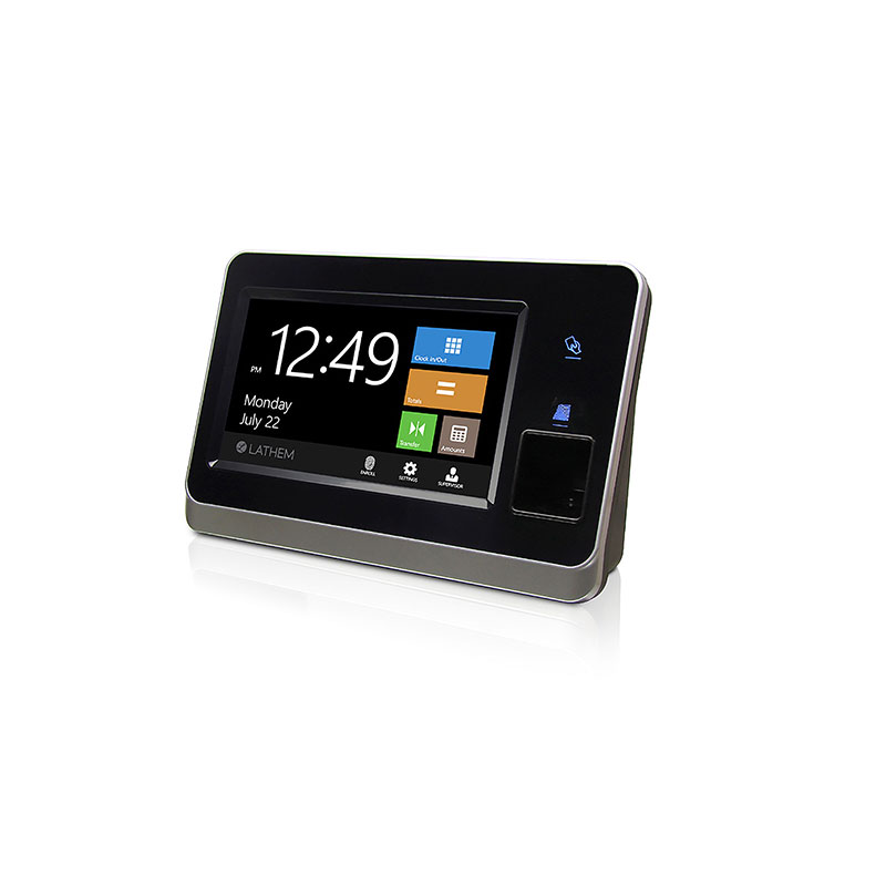 Horodateur wifi punch clock série CT Lathem